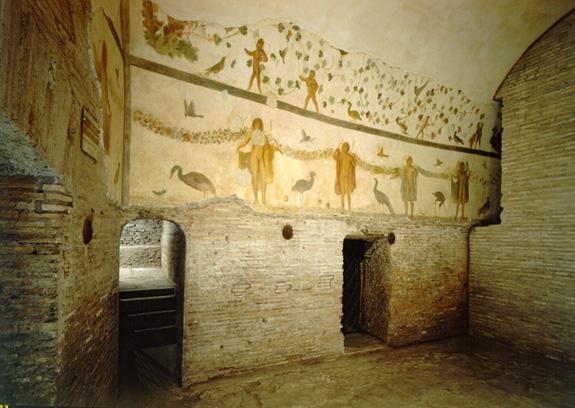 Case romane del Celio – ninfeo affrescato