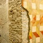 Sotterranei S. Maria Maggiore - affresco geometrico