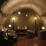 Aperitivo nei sotterranei del Teatro di Pompeo