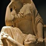 Palazzo Massimo - Divinità femminile e tritone