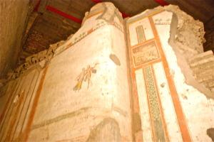 Sotterranei S. Giovanni in Laterano - affresco di domus