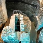 Sotterranei di S. Crisogono - cripta semianulare
