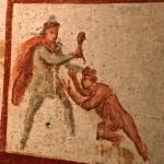Mitreo Barberini - Mitra battezza Apollo