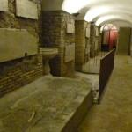 I sotterranei di santa Cecilia a Trastevere