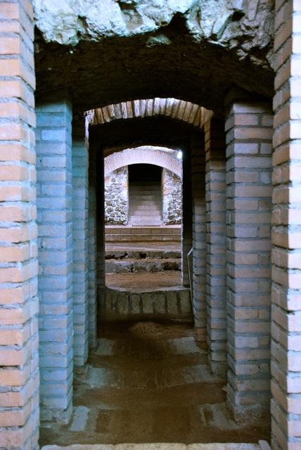 visita sotterranei s. lorenzo in lucina