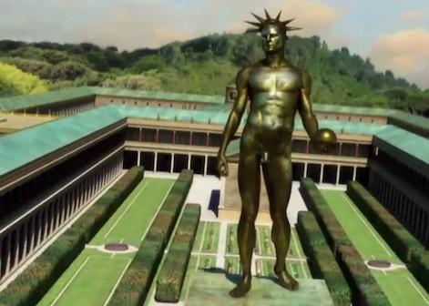 Colosso di Nerone, Domus Aurea