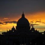 Gianicolo tramonto