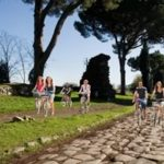In bici sull'Appia Antica