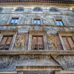 I palazzi dipinti di Roma
