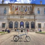 In bici a Villa Borghese