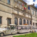 In trenino a Villa Borghese