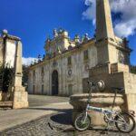 In bici a Villa Borghese e Villa Ada