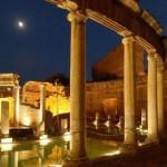 Villa Adriana al tramonto