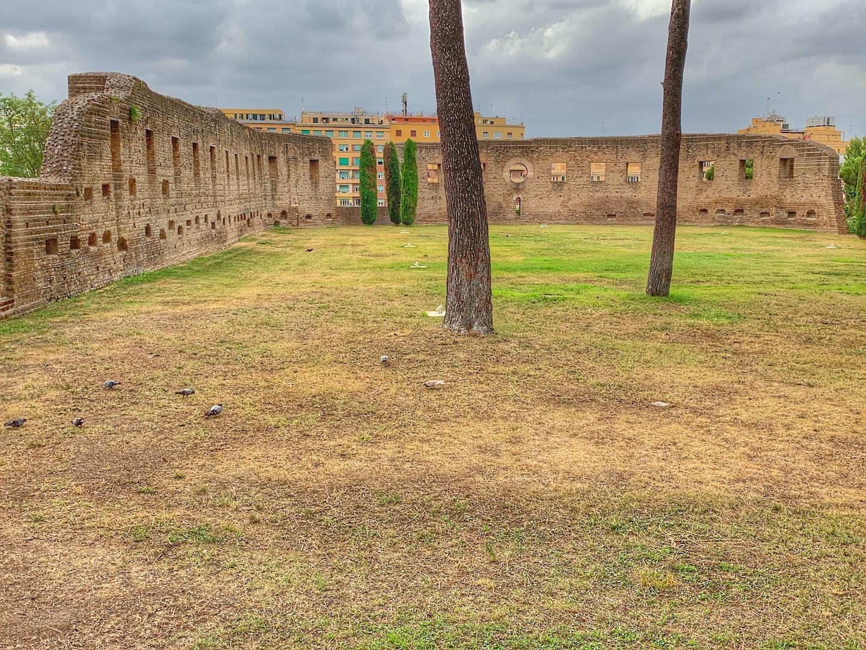 S. Agnese fuori le Mura - basilica circiforme